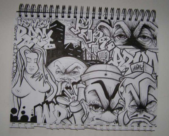 Grafiti New Most: Graffiti Sketches: Graffiti Blackbook ...