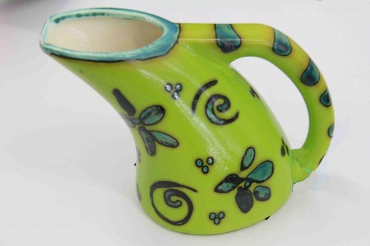 Sarah-May Baxter - Curved Jug  ceramics