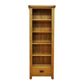 Aspen Large Narrow Bookcase