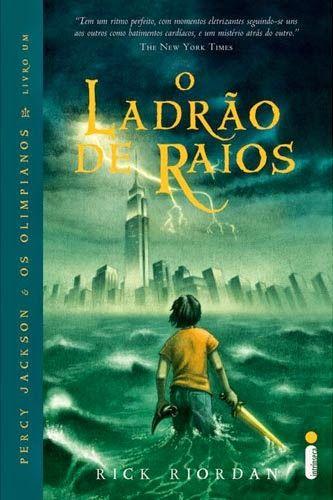 O Ladrão De Raios (The Lightning Thief) – Rick Riordan – #Resenha | Biblioteca Desajeitada