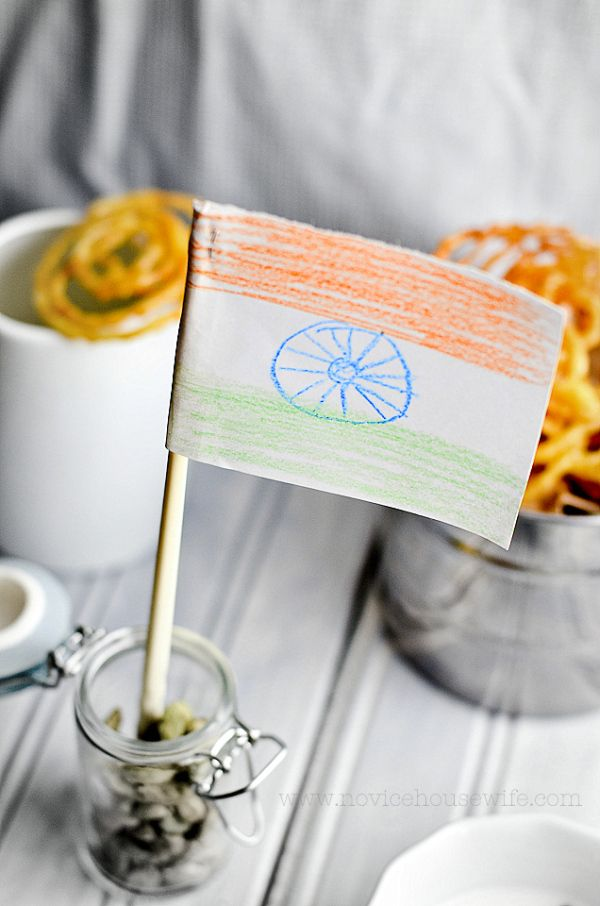 Garam Masala Tuesdays: Celebrating India's Independence Day with.... - The Novice Housewife