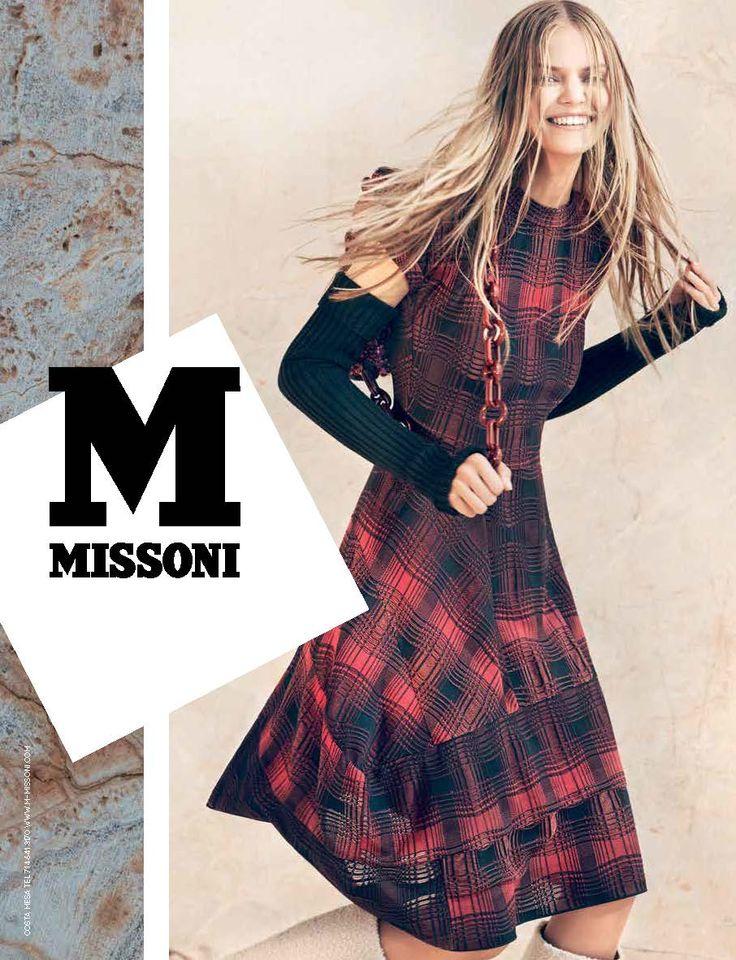 #MMissoni | Advertising Campaign | Fall Winter  2014