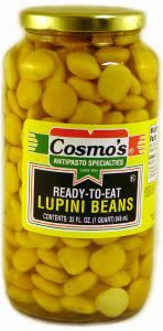 Canned Cooked Lupini Beans. Popular in the Mediterranean region of Europe…