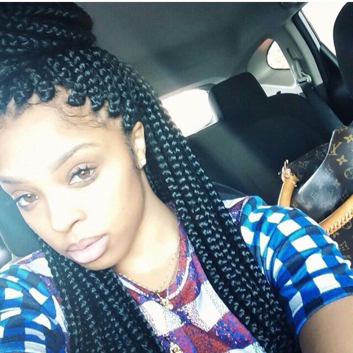 ... , Box Braided Hairstyles, Boxes Braids, Jumbo Box Braids Hairstyles