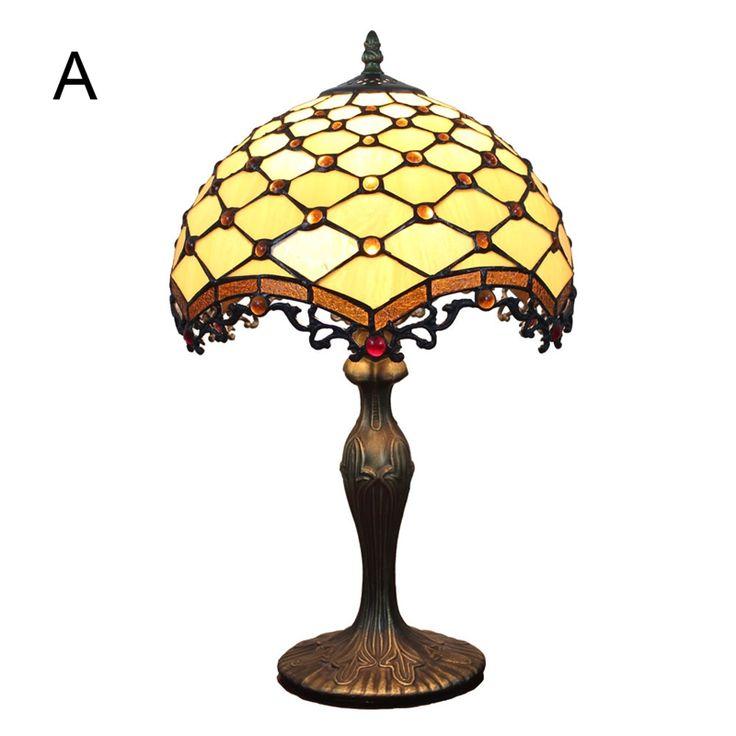 Stilvolle Tischleuchte D30cm Tiffany Stil 1-flammig im Schlafzimmer zu günstigen Preisen kaufen