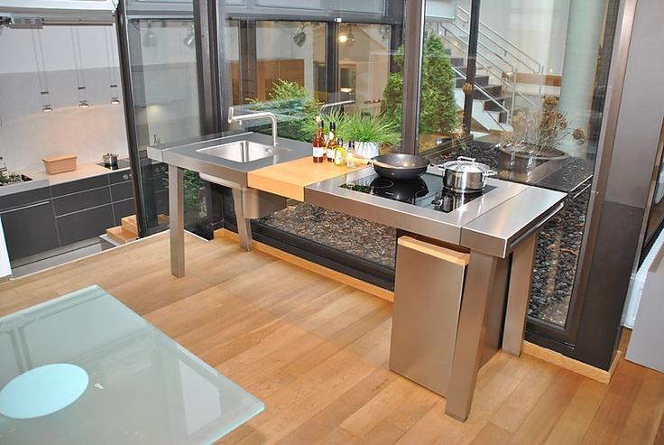 Bulthaup musterk che bultahup b2 werkbank for Interior design bielefeld