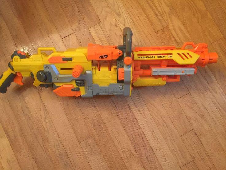 NERF Vulcan EBF-25 Blaster N-Strike Machine Dart Gun  | eBay