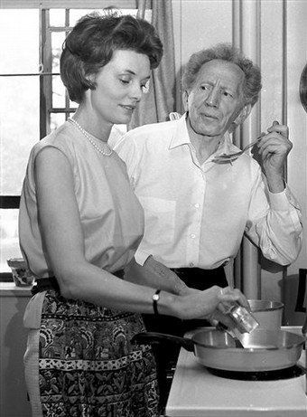 Sam Jaffe And Wife Betty Ackerman Celebrities In The