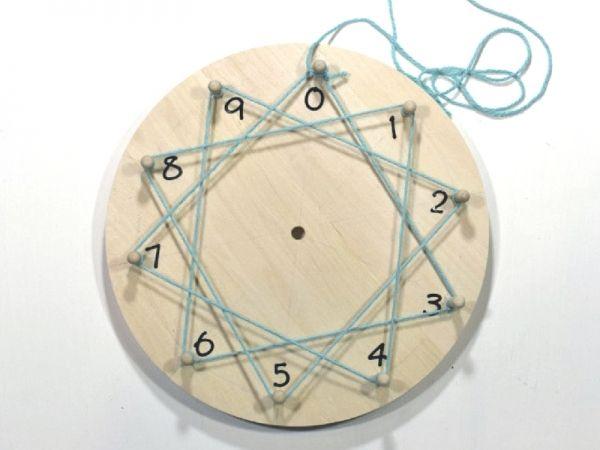 Come creare una ruota montessoriana o mandala delle tabelline