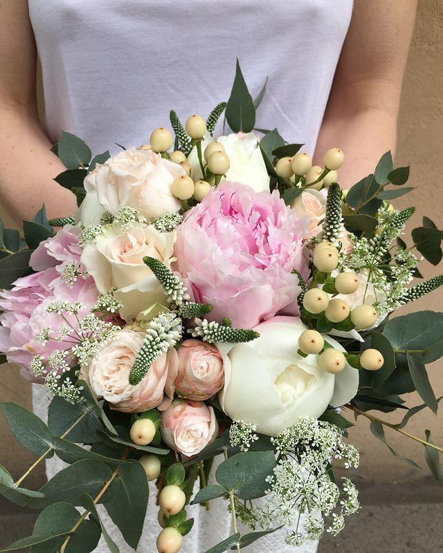 Pastelowy Bukiet Z Piwoniami Floral Wreath Bouquet Flowers