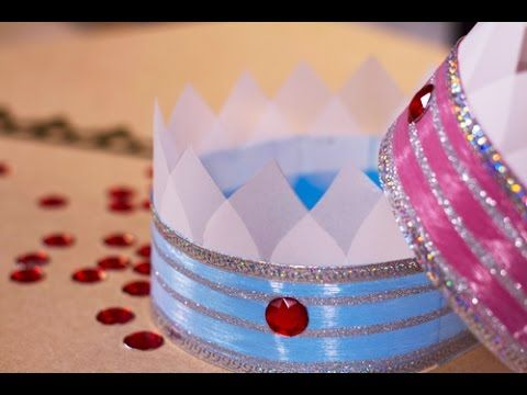 #DIY : #Couronne de prince et princesse ;) #girly