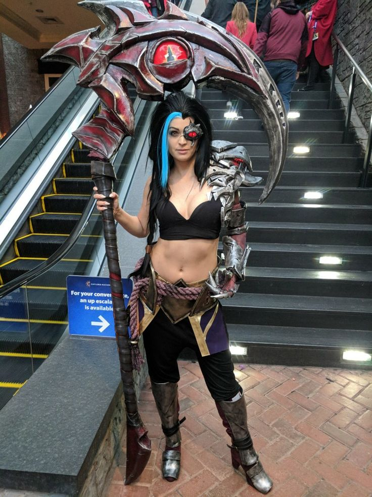 League of Legends Kayn cosplay | LEAGUE. em 2019 | Cosplay ...