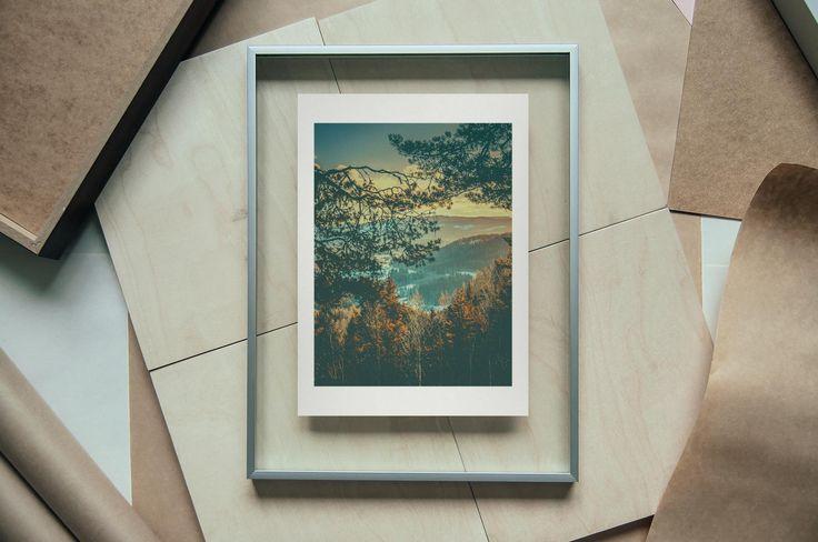 The Woods, 18 X 24 cm on A4 - Find it here: http://shop.palegrain.com/product/the-woods-small - #limitededition #print #photography #interior #interiör #sweden #gothenburg #palegrain #artwork