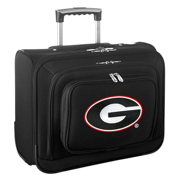 Georgia Bulldogs Carry-On Rolling Laptop Bag - Black - $159.99