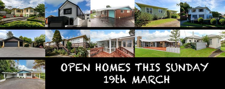 Our open homes this Sunday the 19th, from left to right: 291 Tukapa Street Westown 11:00am-1:00pm | 39 Buller Street New Plymouth Central 12:15-12:45pm | 191 South Road Spotswood 12:30-1:00pm | 5B …
