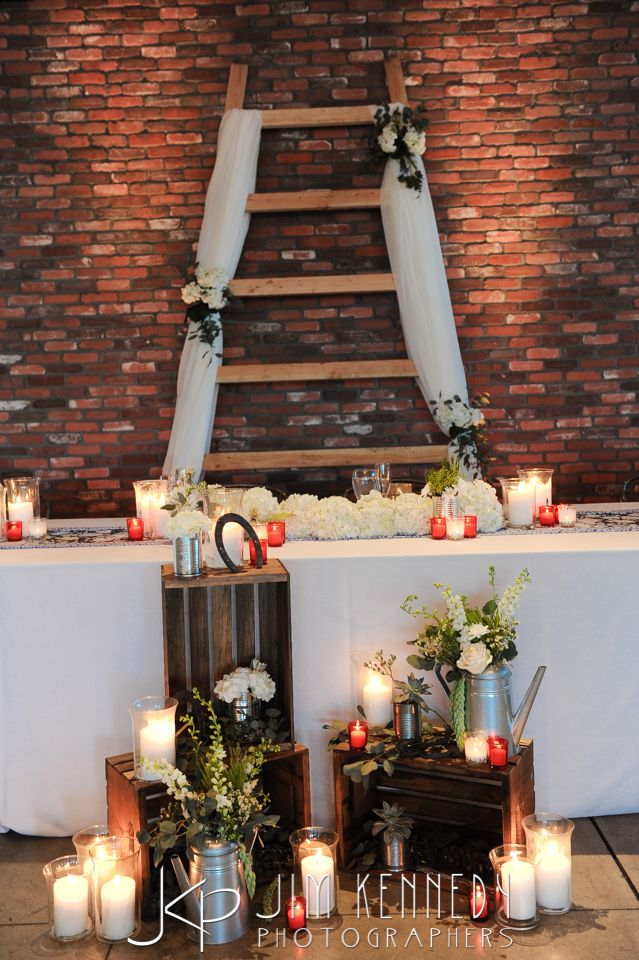 Red white and blue wedding The