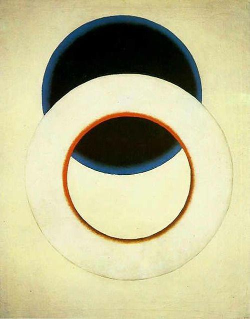 """White Circle"", 1918  By: ALEXANDER RODCHENKO"