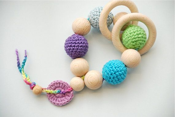 Teething toy and rattle