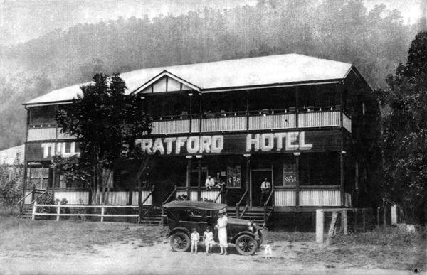 Tully's Hotel 1926. Stratford Heritage Trail