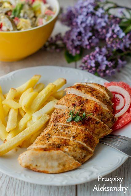 """Przepisy Aleksandry: KURCZAK W """"PAPIRUSIE"""" - wersja domowa/ healthy chicken """"fried"""" in paper"""