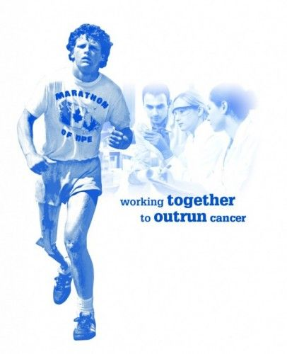 """1980 – Terry Fox begins his """"Marathon of Hope"""" at St. John's, Newfoundland to raise money for cancer research. Fox was a distance runner whose right leg was amputated in 1977 after he was diagnosed with osteosarcoma, though he continued to run using an artificial leg. Fox was forced to end his run when the cancer spread to his lungs. His hopes of overcoming the disease and completing his marathon ended when he died nine months later. An annual Terry Fox Run now takes place in over 60…"""
