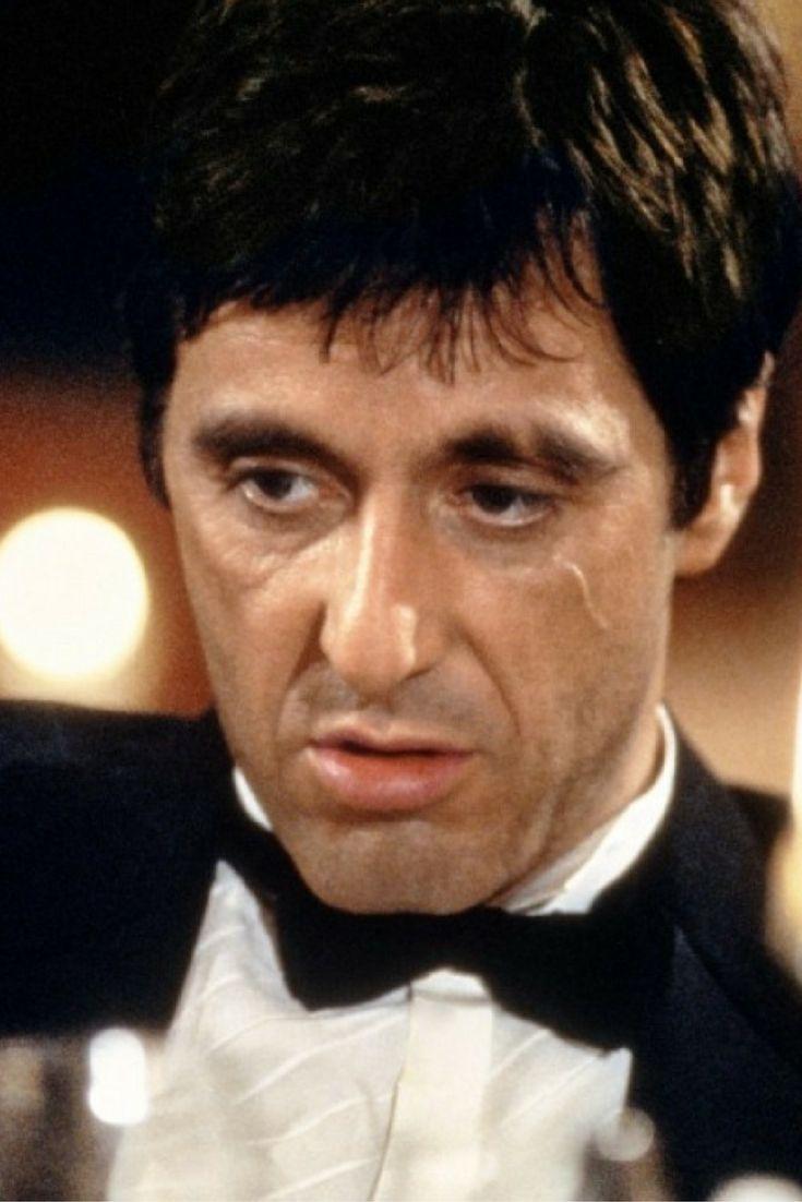 O excepcional Al Pacino no filme Scarface, de Brian De Palma. Clássico incontestável da década de 1980. #clássico #filme #alpacino