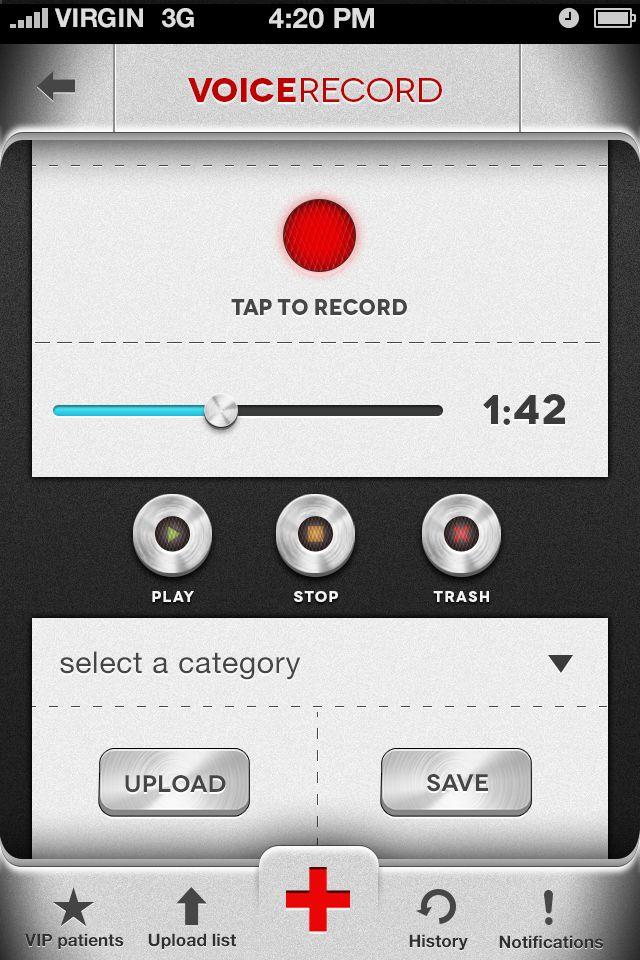 Recorder Screen