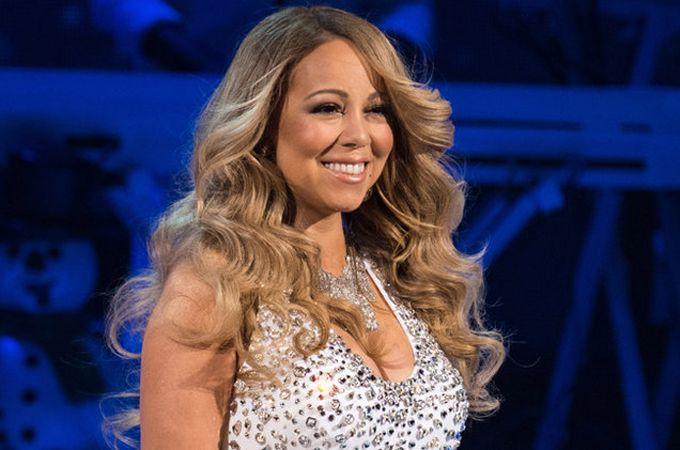 ¡Con kilitos de más! Miren el evidente sobre peso que luce Mariah Carey