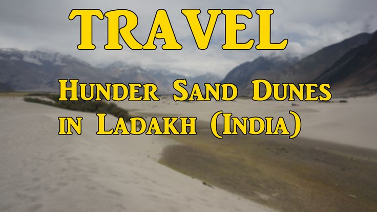 Travel : Hunder Sand Dunes in Nubra Valley, Ladakh (India). Read my full review by visiting my website, link is available in my profile. LifeThoughtsCamera.com ranks #8 in TopIndianBlogs