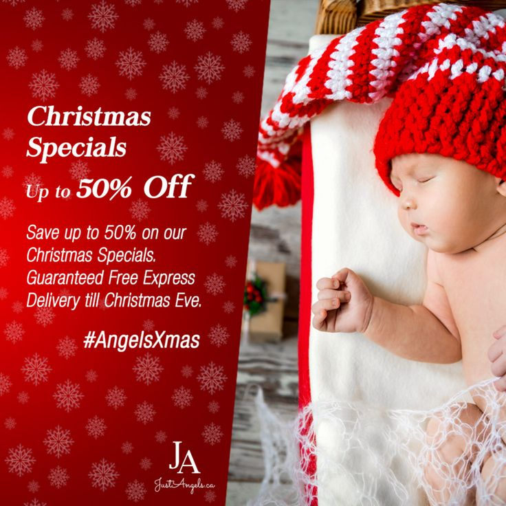 Save up to 50% on our Christmas Specials. Guaranteed Free Delivery before Christmas Eve if you order before 21st December. #Babychristmas #gifts