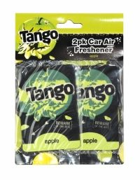 Tango Car Air Freshener 2 Pack Apple Tango car air fresheners with an apple scent