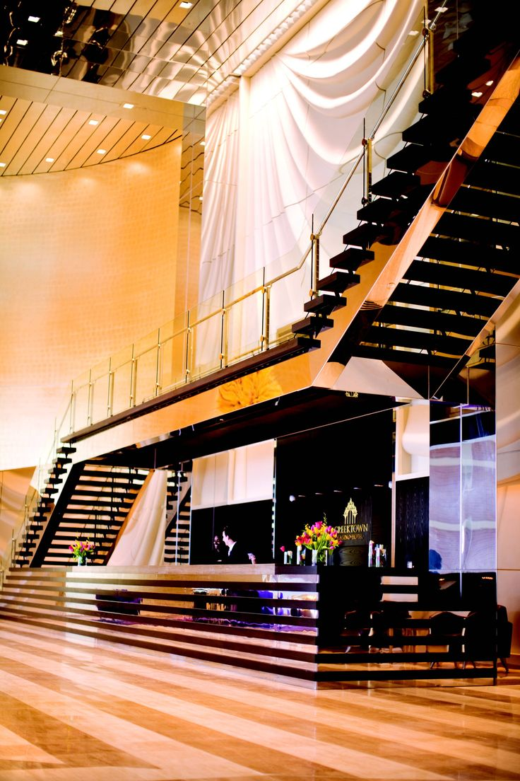 Cool Stairs | Staircase in Greektown Casino Hotel Lobby - Photo of Staircase in ...