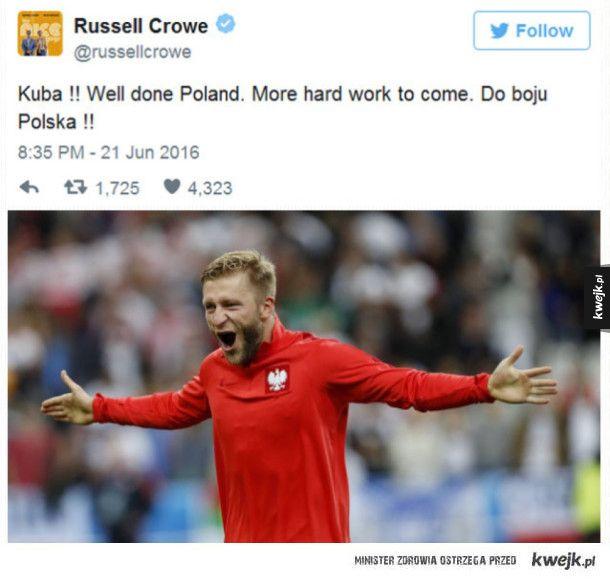 #RusselCrowe #Polska #kwejk