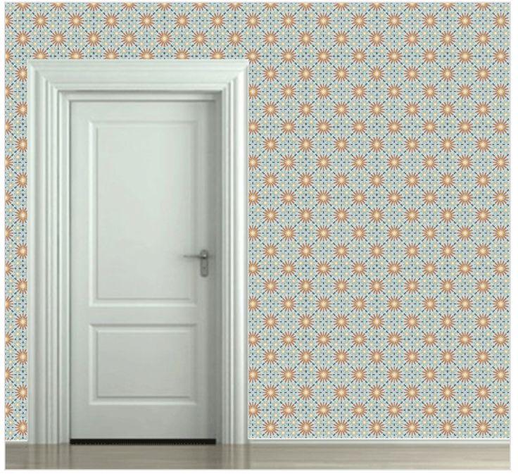 Meer dan 1000 idee n over behang ontwerpen op pinterest studio 39 s muurschilderingen en kleur - Stijlvol behang ontwerpen ...