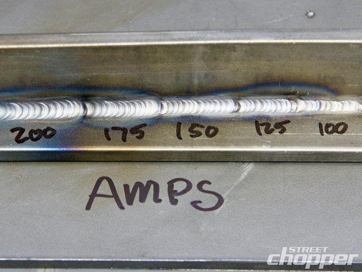 Steel Weld Amps