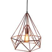 Found it at Temple & Webster - Audrey Copper Plating Pendant lamp