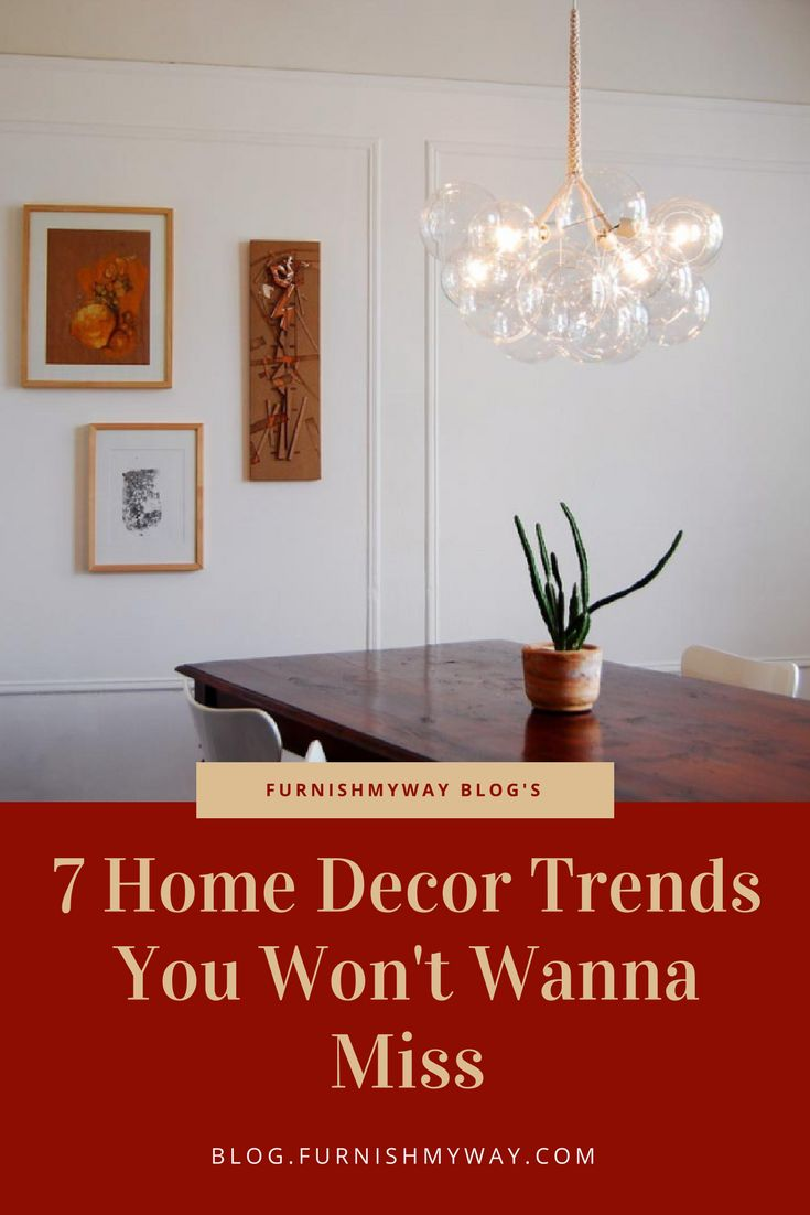 What home decor trends are going to be hot this year? There are a bunch of good ones, so let's take a look and see what's out there!