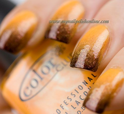 Diy Autumn Gradient Nail Art: 309 Best Ombre/Gradient Nails Images On Pinterest