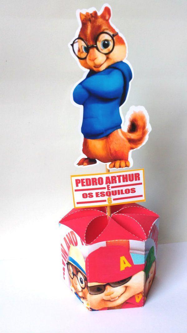 Alvin E Os Esquilos Decoracao De Festa Infantil Alvin And The