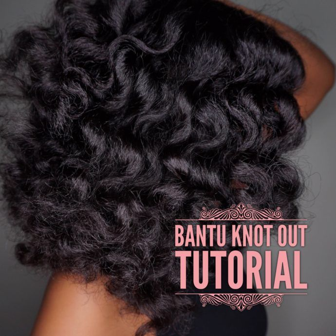 learn how you can get the perfect bantu knot out watching this video with simple tips and using the right natural curly hair products.