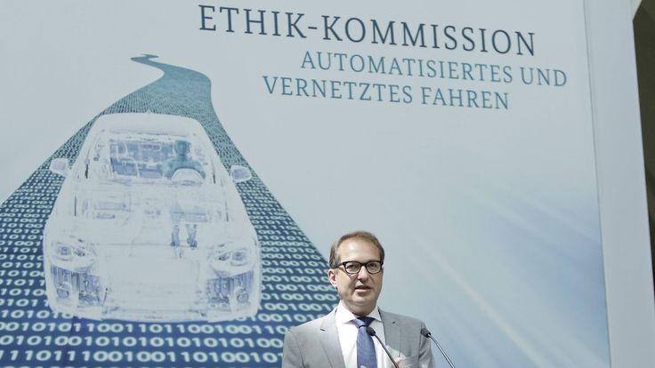 Menschenleben haben immer Vorrang: Ethikkommission präsentiert Leitlinien für autonomes Fahren