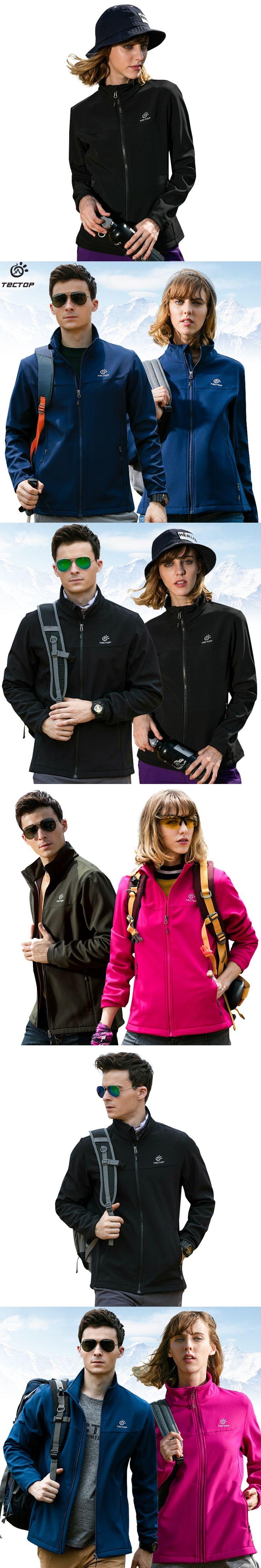 2017 men's outdoor military waterproof jacket sport thermal fleece clothing female hiking warm softshell jacket women breathable