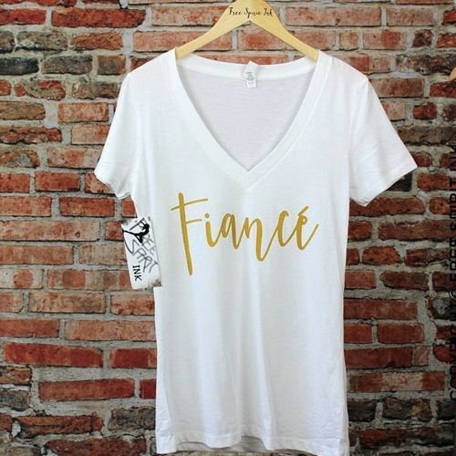 Fiance Shirt | Bachelorette Party Gifts For The Bride, Her | Wedding Gift