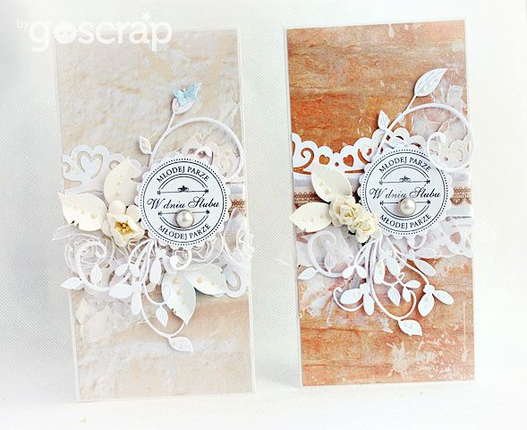 cards by Magda/Papierowy Pokój #goscrap #scrapbooking #cardmaking