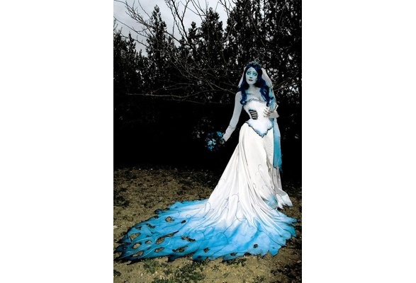 Corpse Bride Wedding Gown: The Corpse Bride Emily Dress ♥