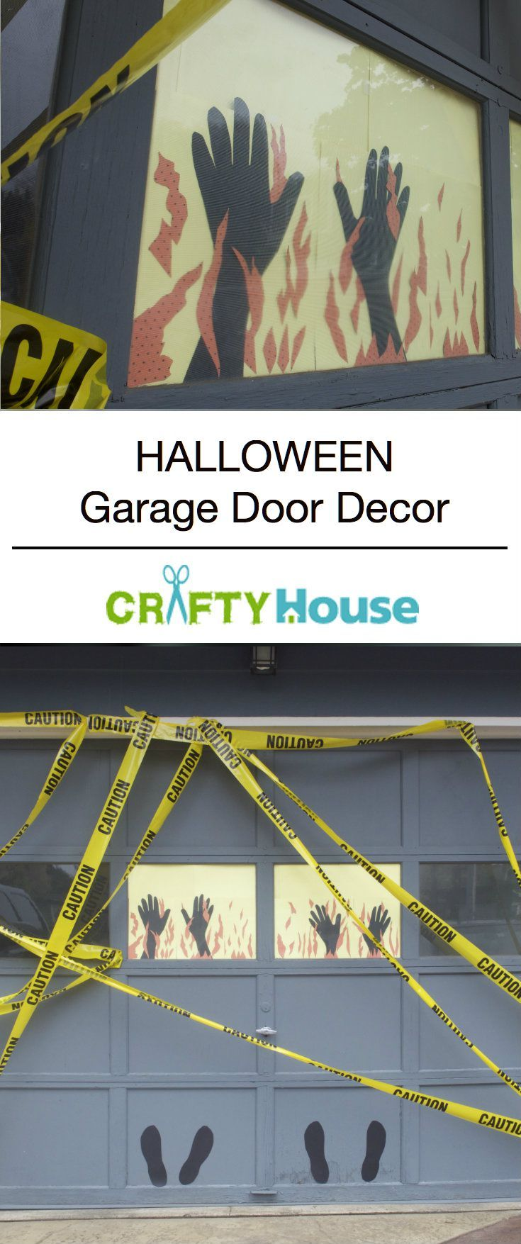 Halloween garage door decorations - Halloween Garage Door Decorations