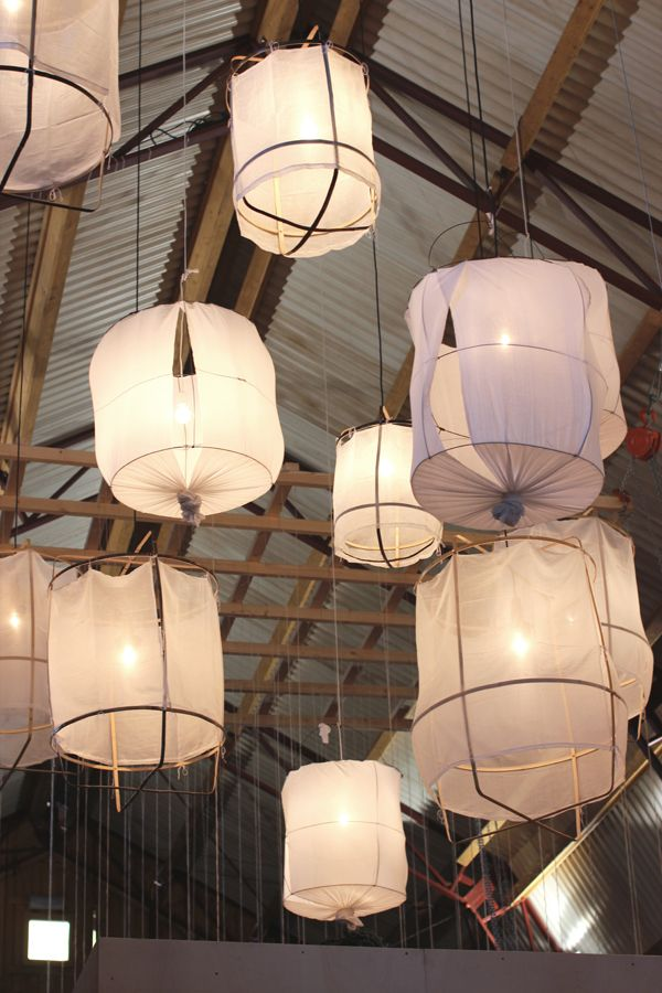Woonbeurs in Amsterdam which is the largest Home Decor Fair in The Netherlands. All major interior brands, and some smaller labels, are present with a booth presenting their latest collections.   Hanging lamps