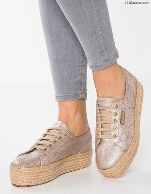 2c96a8c0 Zapatos con plataforma y cordones | Zapatos de moda | Plataformas ...