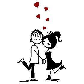 Pegatinas Paredes Enamorados