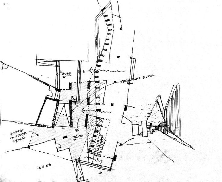 The 769 best Architectural sketch & diagram images on Pinterest ...